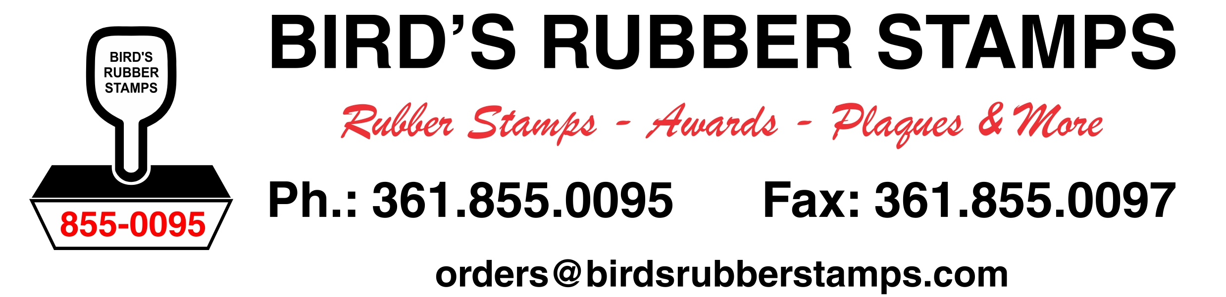 Bird's Rubber Stamps