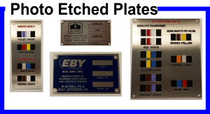 Photo Etched Stainless Plates
