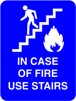Use Stairs ADA Sign